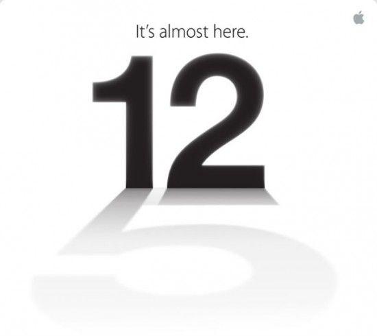 Lansare iPhone 5: 12 septembrie