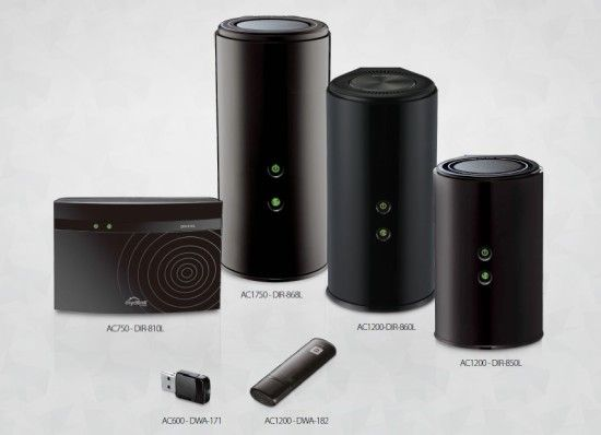 D-Link Wireless AC_products photo_group