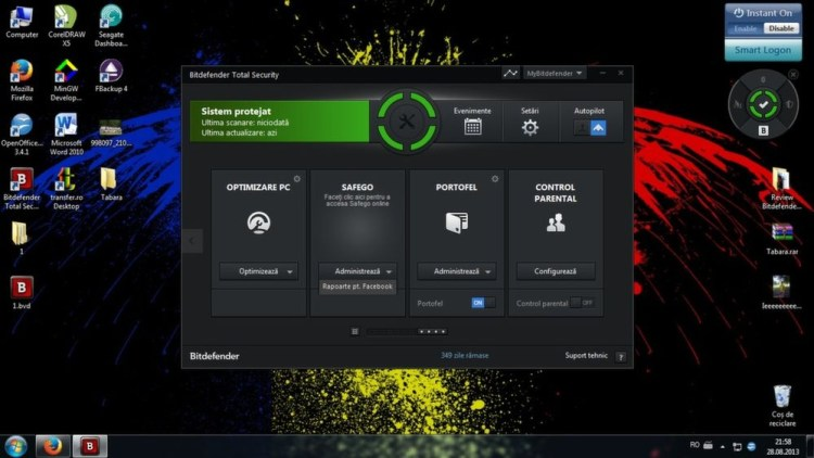 Bitdefender Internet Security - licenta gratuita 6 luni