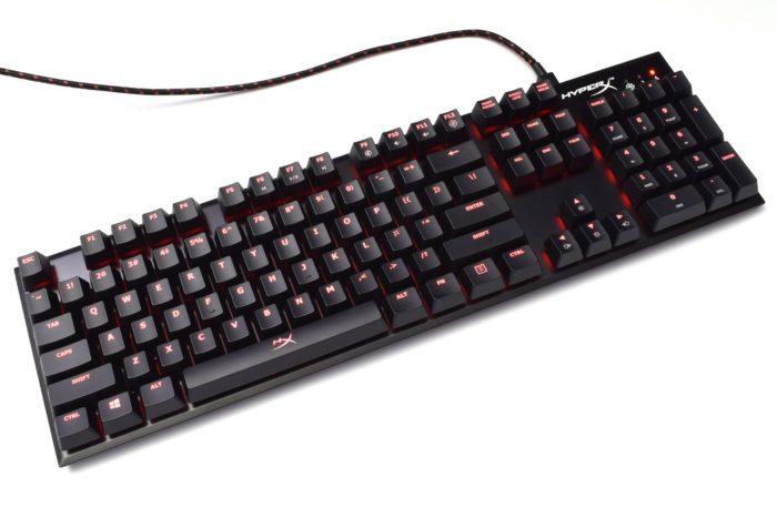 Review tastatură mecanică HyperX Alloy FPS