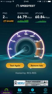 Tenda. 2.4GHz langa router