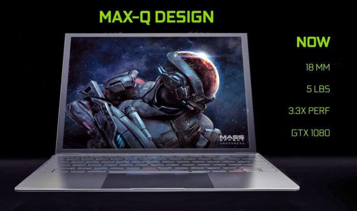 NVIDIA Max-Q: Ultrabook-uri cu GTX 1080
