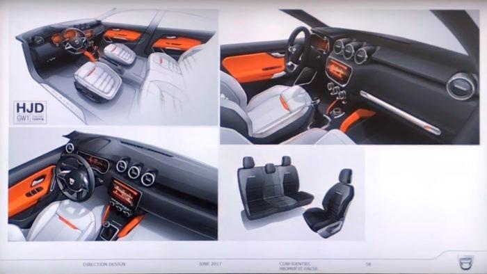 Noul Dacia Duster 2018: poze reale din exterior si un render pentru interior