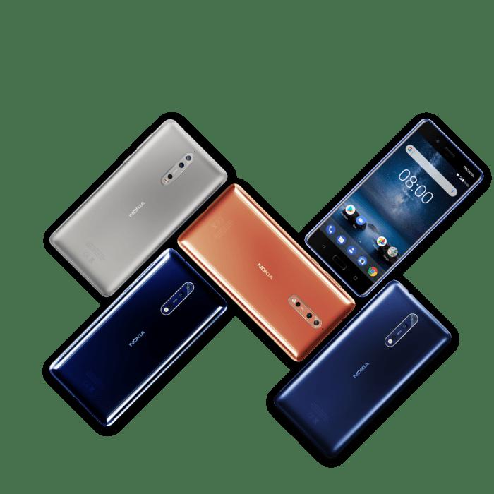 Nokia 8 este disponibil in Romania - pret recomandat de 2699 lei