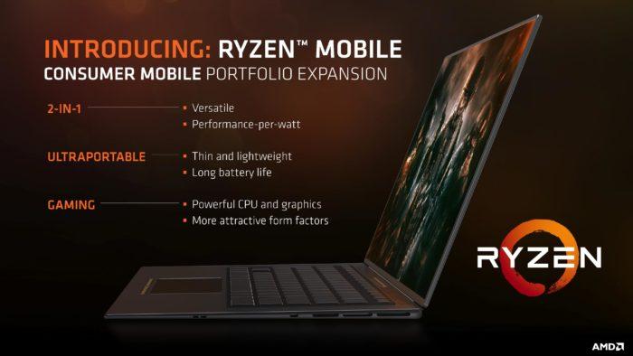 AMD a lansat procesoarele Ryzen pentru laptop-uri cu grafica Vega