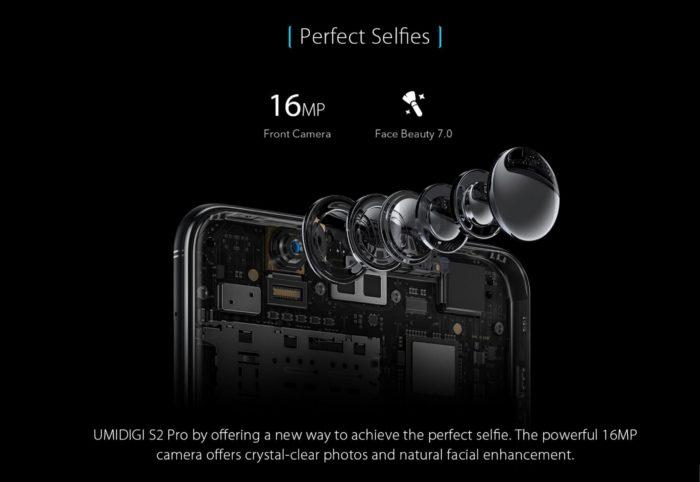 UMIDIGI S2 Pro anunțat oficial: procesor Helio P25, 6 GB RAM, 128 GB stocare și construcție splash proof (P)