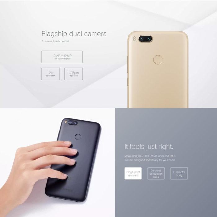 Oferta zilei: Xiaomi Mi A1 (64 GB) la doar 880 lei