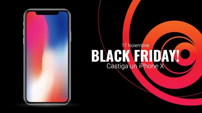 Black Friday 2017 la QuickMobile: incepe vineri, dau un iPhone X prin tragere la sorti
