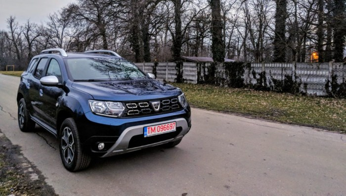 Dacia Duster este chemata in service de urgenta