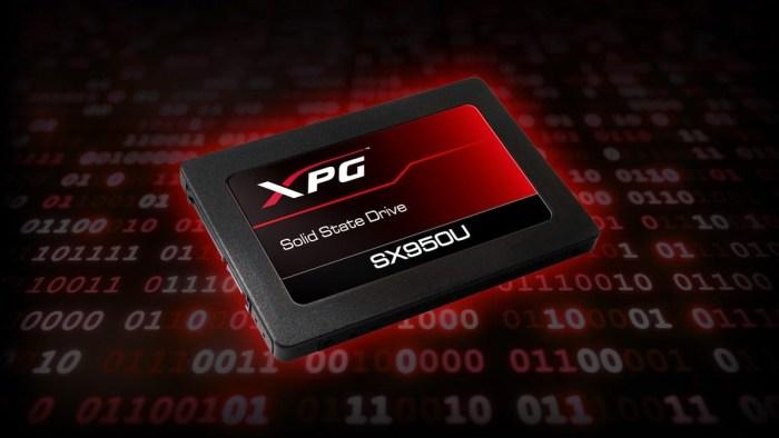 ADATA a lansat SSD-ul SX950U