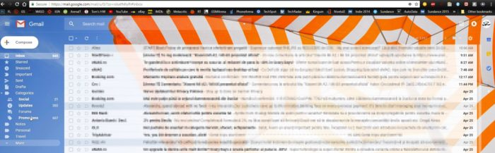 Interfata Gmail a fost reimprospatata