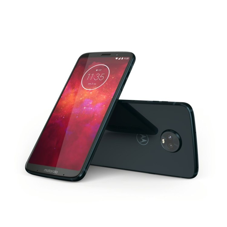 Motorola Moto Z3 Play este disponibil in Romania