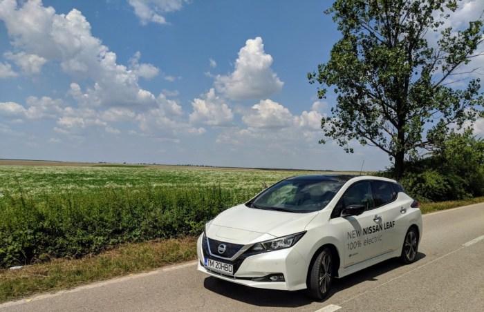 Testam Nissan Leaf 2018: intrebari, curiozitati?