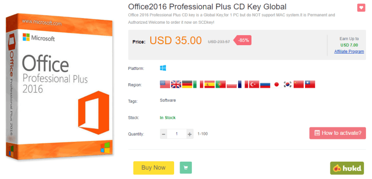 SCDKey este locul de unde poti cumpara licente ieftine pentru Windows si Office