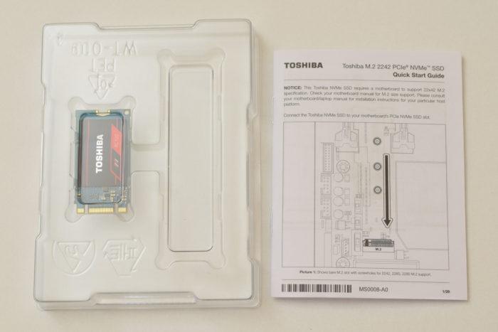Review Toshiba RC100 - SSD NVMe de buget