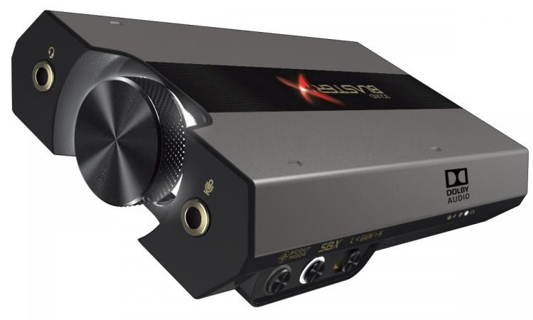Creative lanseaza Sound BlasterX G6 - o placa de sunet pentru gaming