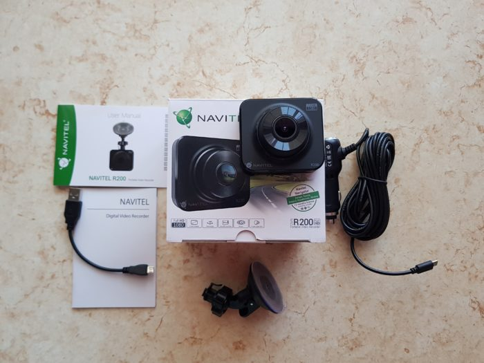 Review camera auto DVR Navitel R200 + CONCURS