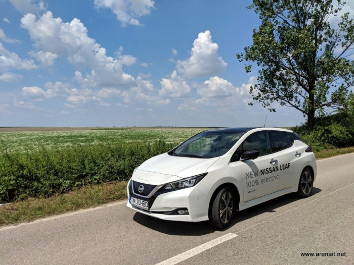 Nissan Leaf 2018 review: o masina electrica aproape perfecta