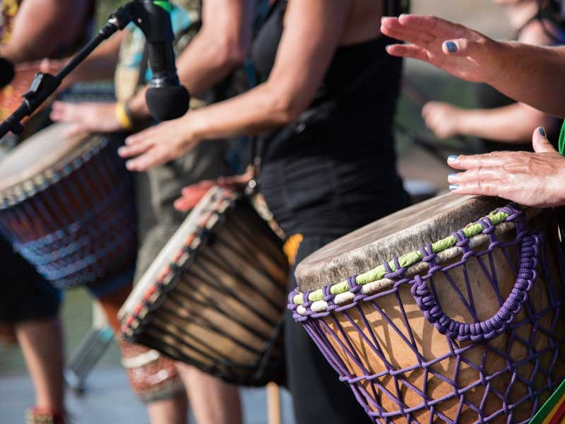 """TOCCA A ME! JAM SESSION """"DRUM CIRCLE"""""""