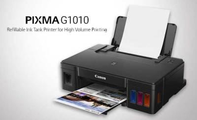 Spesifikasi lengkap Printer Canon G1010 Terbaru