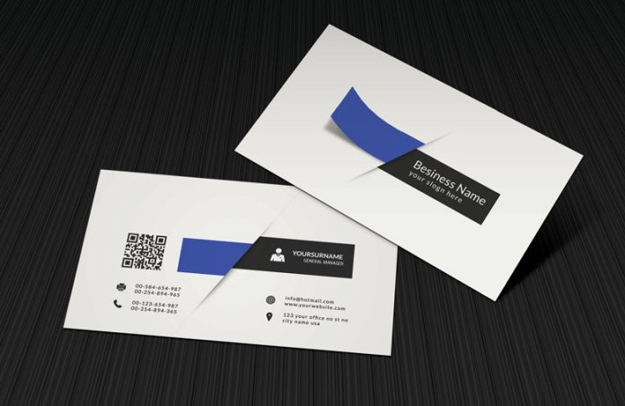 creative white 3d business card template - 3 D Business Card