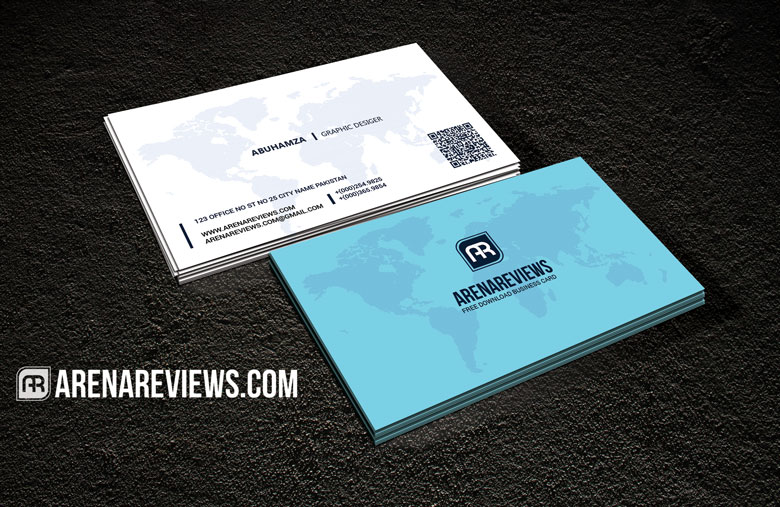 Free world map professional business card download for almost any kind of company or even personal and professional use all text layers can be changed with one click colors can be adjusted by using the colourmoves