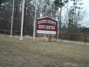 Sabine County Expo Center Sign