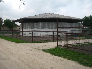 Round Pen for clinics