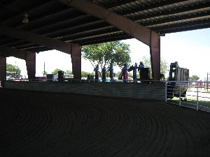 Band Set up area