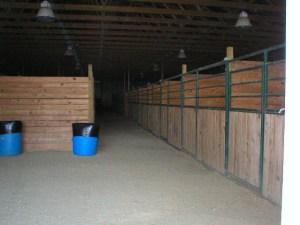 More stalls