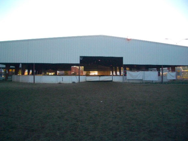 Back of Arena