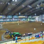 Arena Set up for barrel race