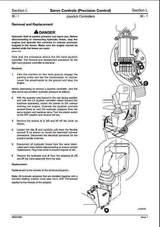 jcb backhoe wiring diagram 1994 31 wiring diagram images wiring diagrams bayanpartner co JCB 1400B Wiring JCB Backhoe Parts Diagram