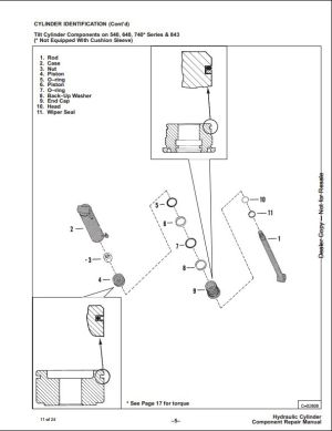 Diagrams Wiring : 743 Bobcat Hydraulic Diagram  Best Free