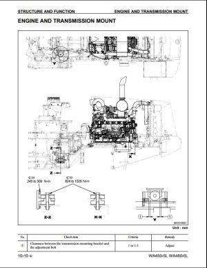 Komatsu Wheel Loaders WA4505L,WA4805L Service Repair Workshop Manual   A Repair Manual Store
