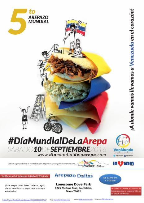 Día Mundial de la Arepa 2016 - Dallas