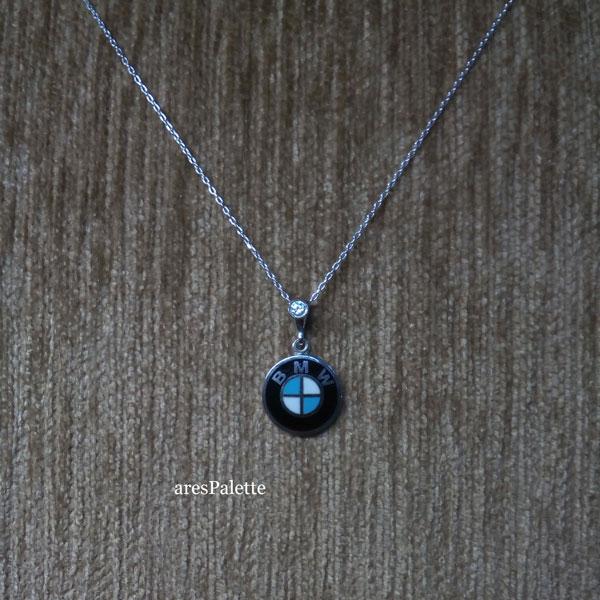 bmw halskette bmw swarovski necklace 3