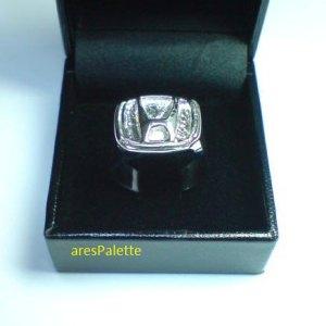 honda silver ring