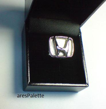 honda ring honda jewelry honda logo arespalette 1