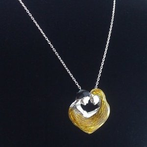 You and Me Lovers Necklace