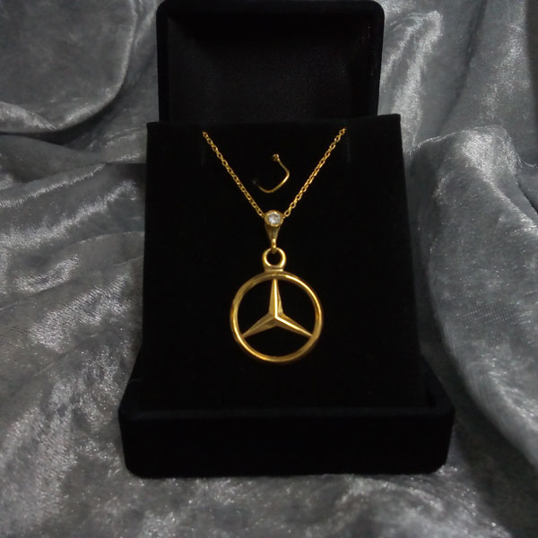 mercedes benz halskette car jewelry mercedes collier arespalette 17