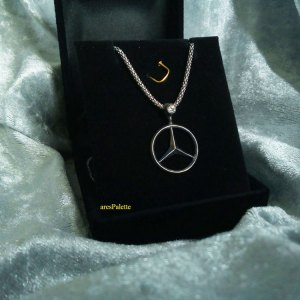 mercedes necklace