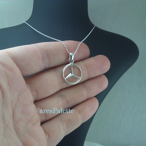mercedes benz necklace mercedes halskette 2