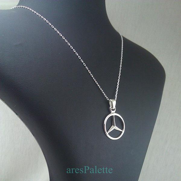 mercedes benz necklace mercedes halskette 4