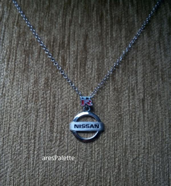 nissan gtr necklace nissan pendant car jewelry 4 min