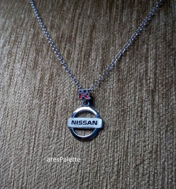 nissan gtr necklace nissan pendant car jewelry 5 min