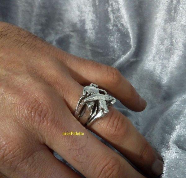 peugeot ring men ring peugeot logo car jewelry 3