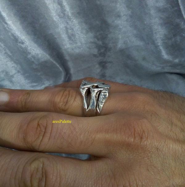 peugeot ring men ring peugeot logo car jewelry 5