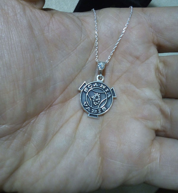 scania necklace scania collier arespalette 4