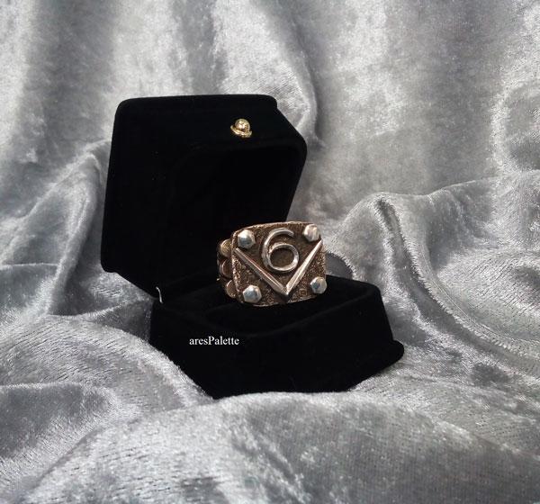 v6 ring v6 engine  v6 engine ring men rings muscle cars car jewelry   arespalette 7